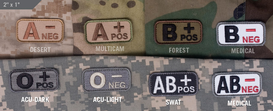Bloodtypes Patch Tactical Kit